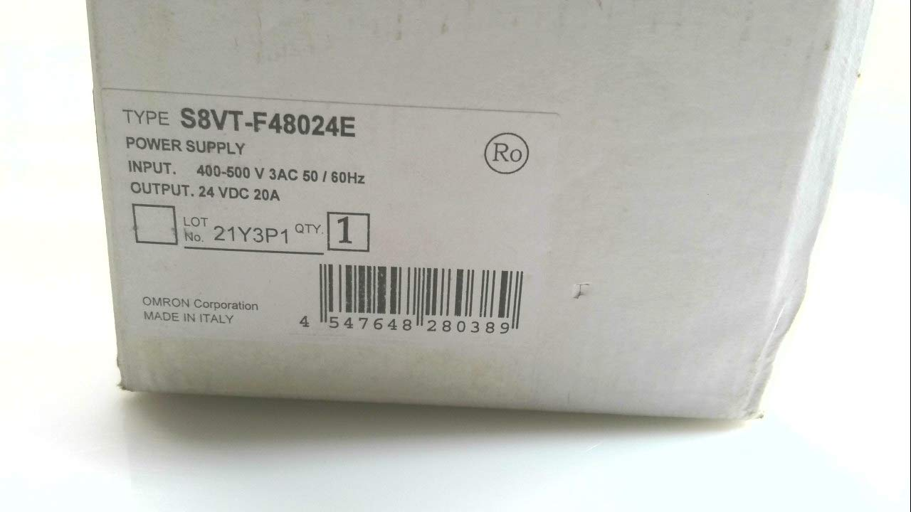 Omron S8vt-F48024e Power low-pricing High quality new Supply 480Vac 20A 24V