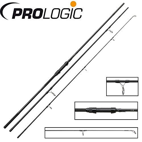 Prologic C1 XG 13ft 390cm 3,50lbs 3-teilige Karpfenangel zum Angeln auf Karpfen, Karpfenangelrute, Angelrute zum Karpfenangeln