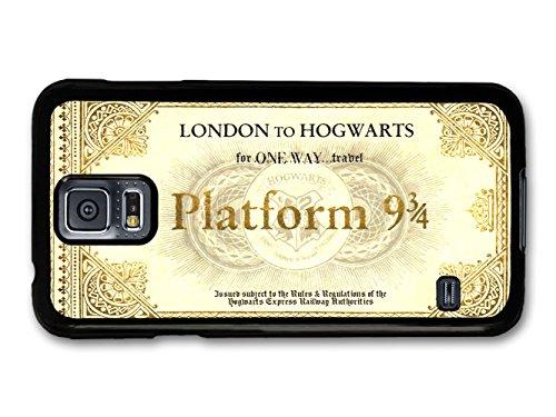 Harry Potter Hogwarts Express Platform 9 3/4 Ticket carcasa de Samsung Galaxy S5