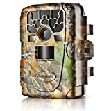 Flexzion Game and Trail Hunting Scouting Camera - 12MP 1080P HD, IP66 Waterproof, PIR Motion...