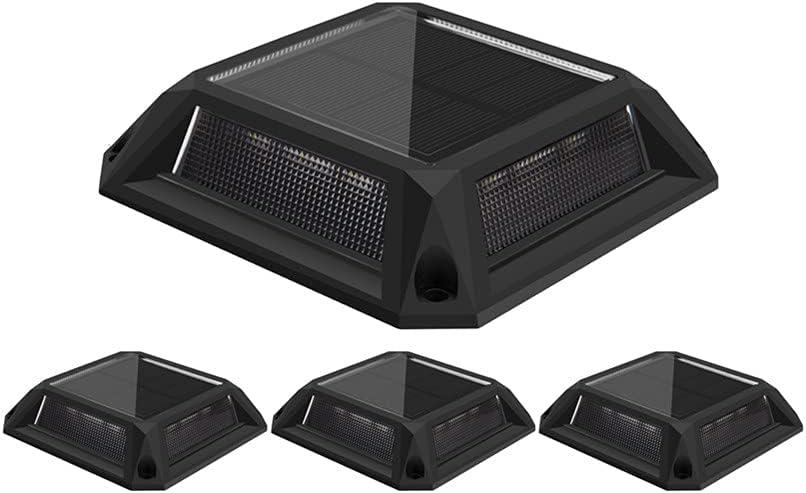 Solar Step Lights 4-Pack 12 Powered Weathe LED Cheap Super sale super special price Deck