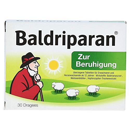 BALDRIPARAN Zur Beruhigung überzogene Tabletten 30 St