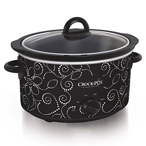 Crockpot Manual Slow Cooker, 4 q...