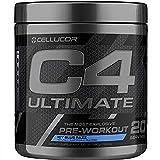 C4 Ultimate Pre Workout Powder ICY Blue Razz - Sugar Free Preworkout Energy Supplement for Men & Women - 300mg Caffeine + Beta Alanine + Creatine - 20 Servings