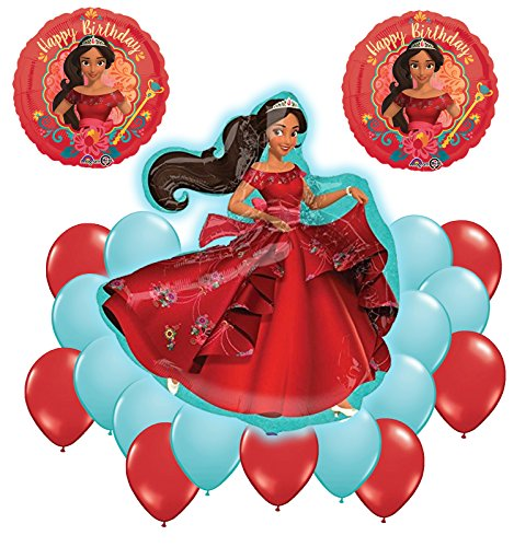 Elena Of Avalor Supershape Happy Birthday Balloon Bouquet Decoration Kit 20pc