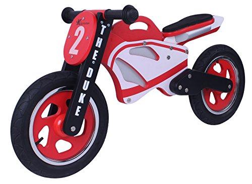 Kidzmotion Der Herzog Holz Motorrad Balancen-Fahrrad