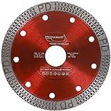 PRODIAMANT Disco da taglio per piastrelle Premium 115mm con foro di 22,23 mm per tagliare e...