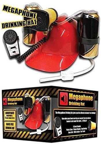 Megáfono–Casco de casco de cerveza con 6sonidos diferentes