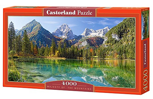 Jigsaw Puzzle - Majesty Of The Mountains - Castorland - 4000 Pezzi