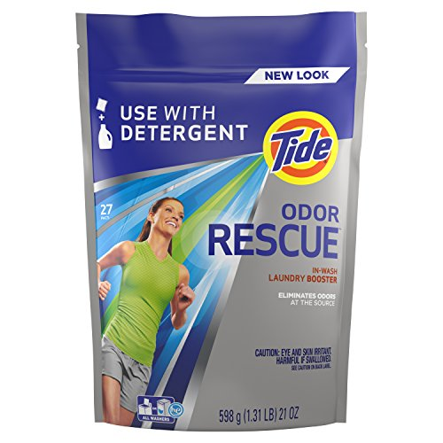 Tide Odor Rescue In-Wash Laundry Booster Pacs, 27 Count per pack, 21 Ounce (37000962243)