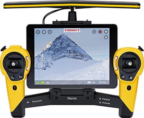 Parrot Bebop Drohne + Parrot Skycontroller gelb