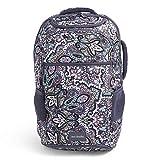 Vera Bradley Recycled Lighten Up Reactive Journey Backpack, Bonbon Medallion