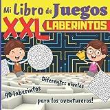 Mi Libro de Juegos XXL Laberintos: A partir de 5 años: 90 laberintos para niños intelectuales!...