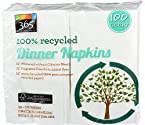 365 Everyday Value, 100% Recycled Dinner Napkins, 100 ct
