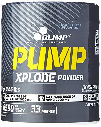 Olimp Nutrition Pump Explode 300 Grams 33 Servings Fruit Punch