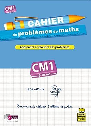 Cahier de problèmes de maths CM1