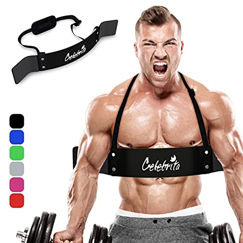 Celebrita MMA Arm Blaster for Biceps & Triceps, Bicep Curl Support Isolator...