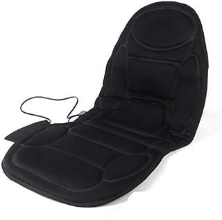 Colchón de masaje vibratorio de cuerpo entero Cojín de masaje for coche Cojín de asiento de coche for apoyarse en calefacción eléctrica multifunción Cojín de masaje for coche Colchoneta de masaje Colc