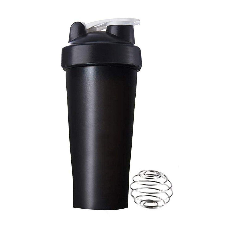 工場カップル季節Roman Center プロテインシェイカー 直飲み プラスチックウォーターボトル ジム シェーカーボトル 600ml