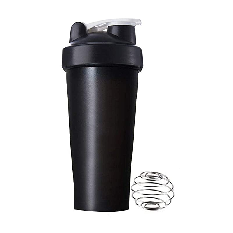 理想的安息面白いgundoop プロテインシェイカー 直飲み プラスチックウォーターボトル ジム シェーカーボトル 600ml