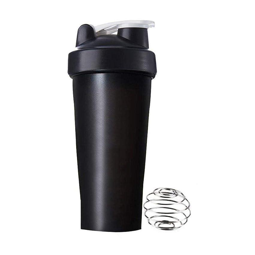 病的騒ぎカートリッジAomgsd プロテインシェイカー 直飲み プラスチックウォーターボトル ジム シェーカーボトル 600ml