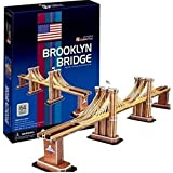 CM-3D Puente DE Brooklyn USA Puzzles 3D, Multicolor (156733)