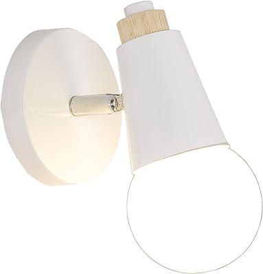 Lámpara de pared Katrien (Moderno) en Blanco hecho de Textura ...
