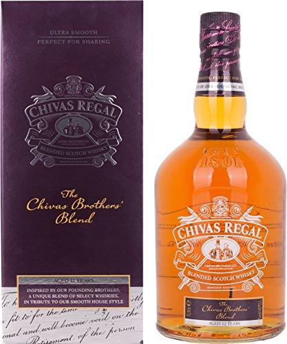 Chivas Regal Scotch 12 Years Old The Chivas Brothers' Blend + GB 40% Vol. 1 l