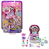 Polly Pocket Candy Cutie Gumball Compact, Gumball Theme with Micro Polly &...