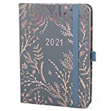 Boxclever Press Everyday Diary 2021. Stunning 2021 Diary, Weekly Planner with Dotted Notes Pages. Planner 2021 to Achieve Your Goals. with Monthly Planning Pages, Bill Trackers, Pocket & More (Mist)