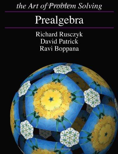 Prealgebra [Paperback] Richard Rusczyk; David Patrick and Ravi Boppana