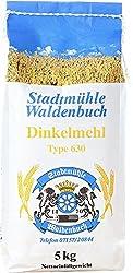 Dinkelmehl - 5 kg - feinste Bäckerqualität