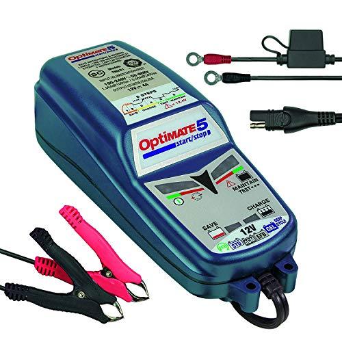 OptiMATE TM220-4A Cargador de batería OptiMate5, Azul, 5 Start / Stop 12V 4A