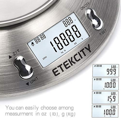 Etekcity Scale with Bowl