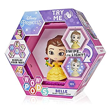 WOW! PODS Disney Princess Collection - Belle Collectable Light-Up Figure