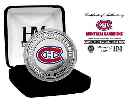 "Montreal Canadiens ""2008"" Team Force 24KT Gold Coin Photo Mint"