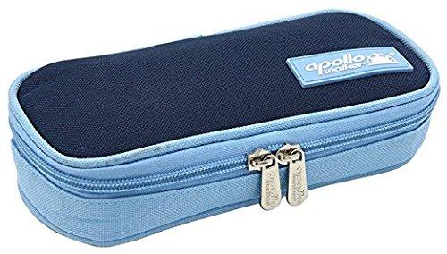 Apollowalker Borsa termica per mantenere l'insulina e medicinali (blu scuro + 2 impacchi di ghiaccio)