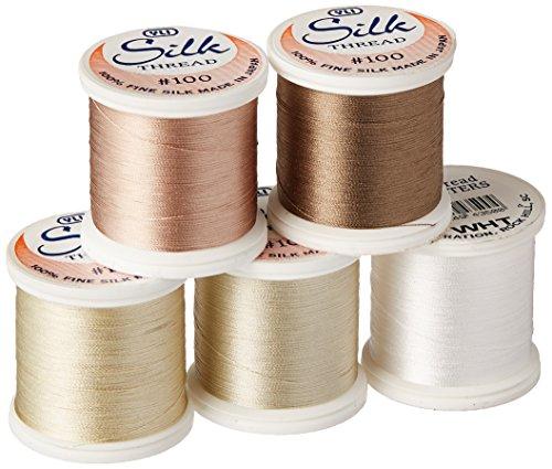 YLI Silk Sampler Thread, 200m, Assorted