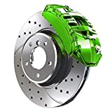 G2 High Temperature High Gloss Self Leveling Brush On Lime Green Brake Caliper Paint Syste...