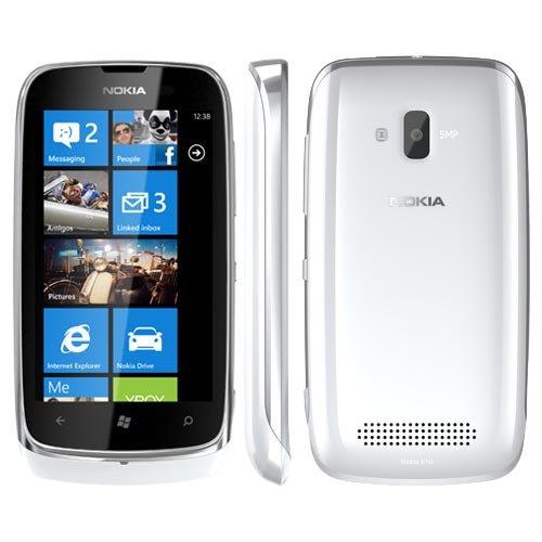 Nokia Lumia 610 9,4 cm (3.7') 0,25 GB 8 GB SIM singola Bianco 1300 mAh