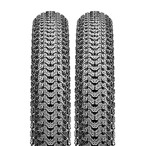 FYYTRL Neumático de Bicicleta Negro 26x1,95 Neumático de Bicicleta de montaña de Repuesto General (2 neumáticos), Apto para Bicicletas de montaña y Carretera,26x2.1