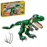 LEGO 31058 Creator 3en1 Grandes Dinosaurios, T. Rex, Triceratops o Pterodáctilo, Juguete de Construcción para Niños y Niñas +7 años
