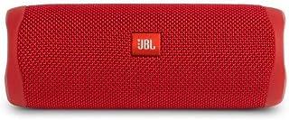 سماعات بلوتوث متنقلة من جي بي ال فليب 5 ، سماعة بلوتوث محمول مقاوم للماء -احمر - JBLFLIP5RED
