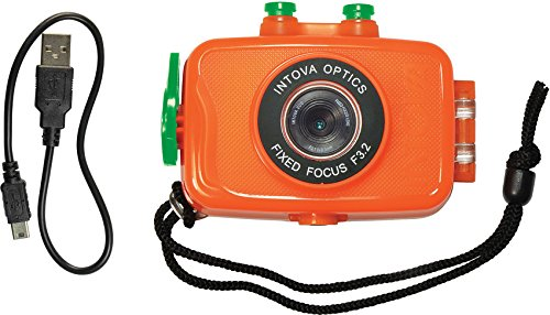 Intova Duo Waterproof HD POV Sports Video Camera, Orange