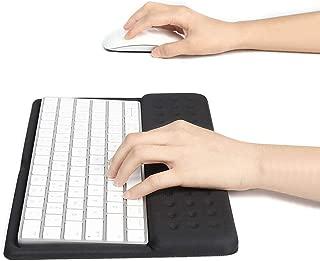 BUBM Wrist Rest Support Keyboard Pad for Apple Magic Keyboard (MLA22LL/A) (Black)