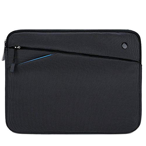 Feacan 11 inch Tablet Sleeve for 10.2 inch New iPad / 10.9 inch New iPad Air 4 / 11 10.5 inch New iPad Pro / 10.5 iPad Air / 9.7 iPad / iPad Air 2 Case Bag, fit Apple Pencil Smart Keyboard Cable,Black