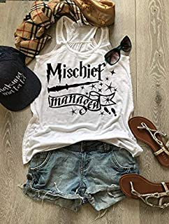 Mischief Managed Tank. Universal Harry Potter Trip Tank. Disney Inspired Tank. Women's Eco Flowy Tanks. True To Women's Size. Women Clothing.