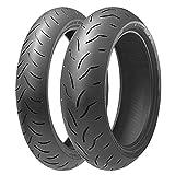 Par neumáticos Bridgestone battlax bt-016Pro 120/70R 1758W 160/60R 1769W para Yamaha MT-03660