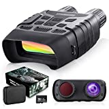 """BNISE Digital Night Vision Binoculars - 984ft Infrared Night Vision Googgles with 32G Memory Card 2.31"""" LCD Screen for Hunting & Surveillance"""