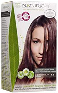 Naturigin Hair Color, Light Chocolate Brown 1 Count